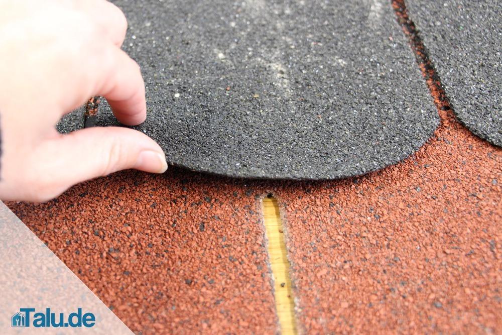 Bekannt Dachschindeln selbst verlegen - Dach mit Bitumenschindeln - Talu.de DU76
