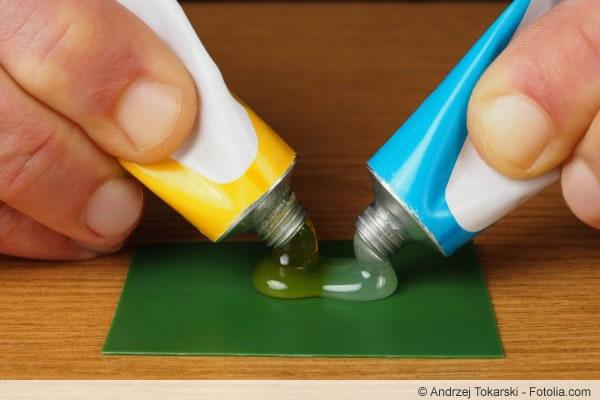 Epoxidharz - findet auch in vielen Klebern Verwendung