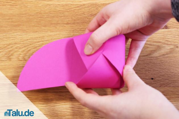 Papierschachtel basteln