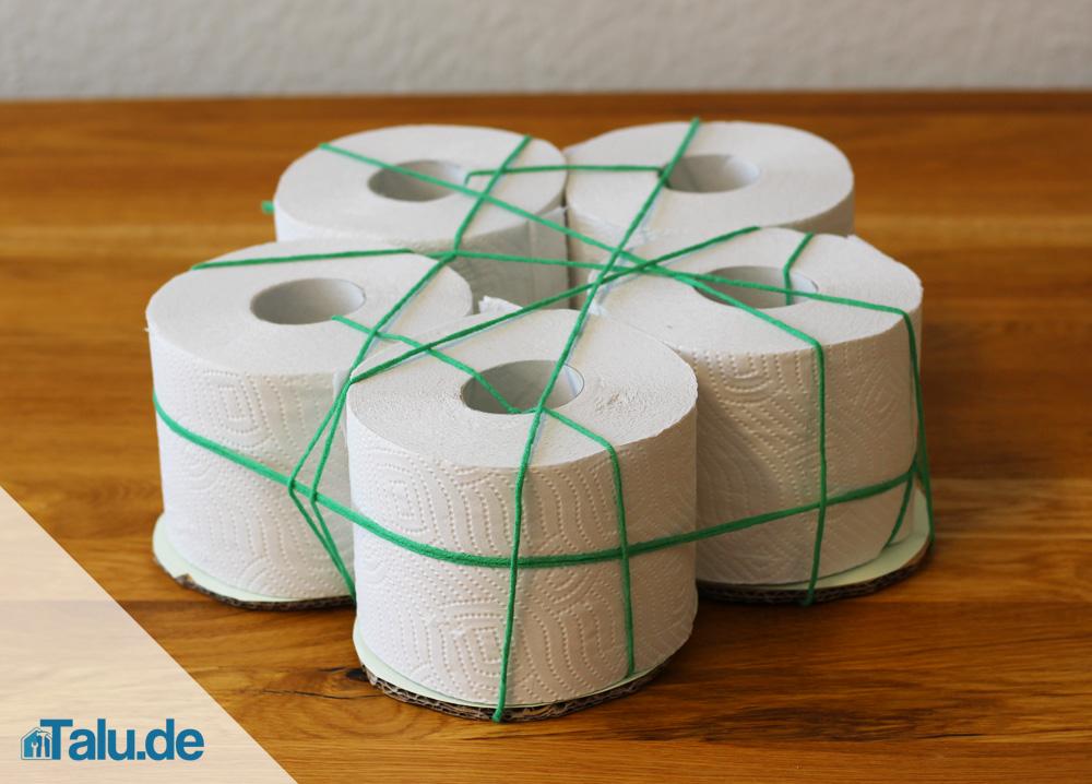 Anleitung Klopapiertorte Selbst Basteln Diy Toilettenpapiertorte