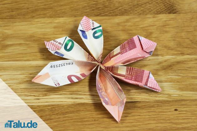 Geldschein-Blume