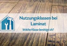 Nutzungsklassen von Laminat