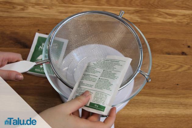 Rezept für Badekugeln