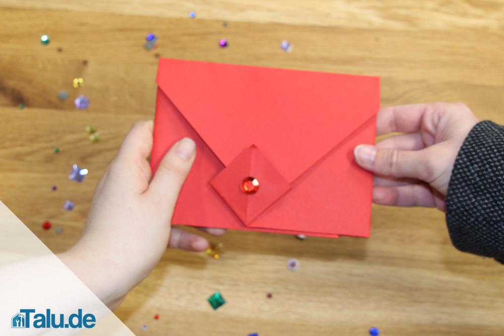 Brief Falten C6 Umschlag : Briefumschlag falten kuvert in nur sekunden selber