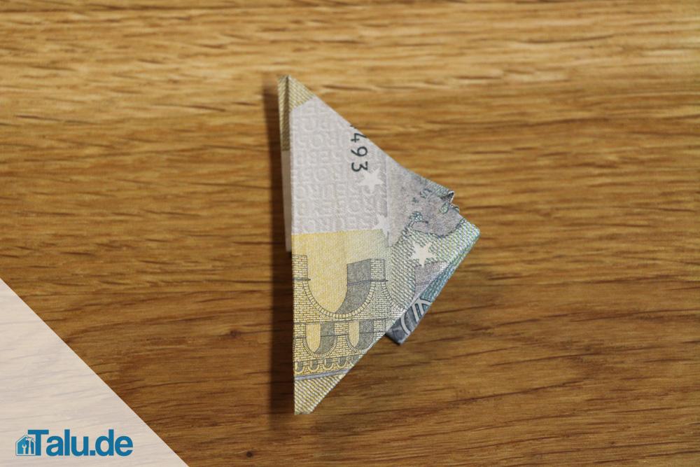 Geldschein Zu Einem Frosch Falten Faltanleitung Talu De
