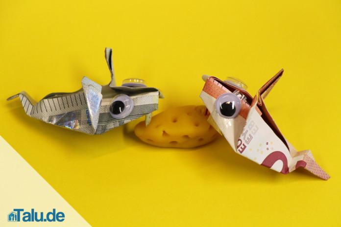 Geldschein Zu Einer Maus Falten In Nur 10 Schritten Talu De
