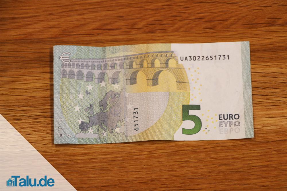 Geldschein Zu Einem Schmetterling Falten Anleitung Talu De