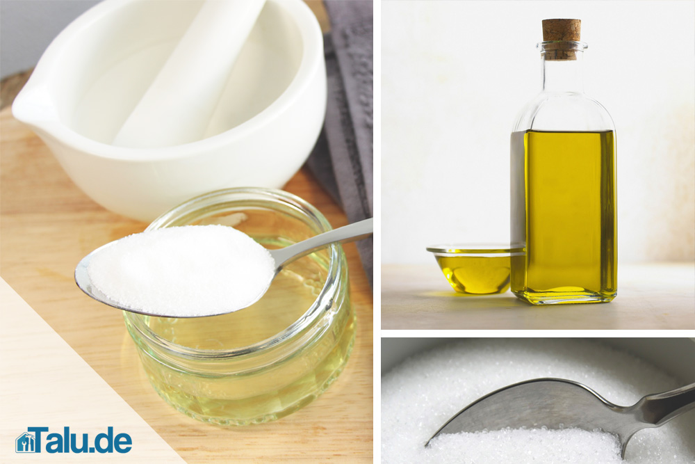 Salz-Öl-Peeling