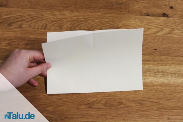 Papierboot basteln