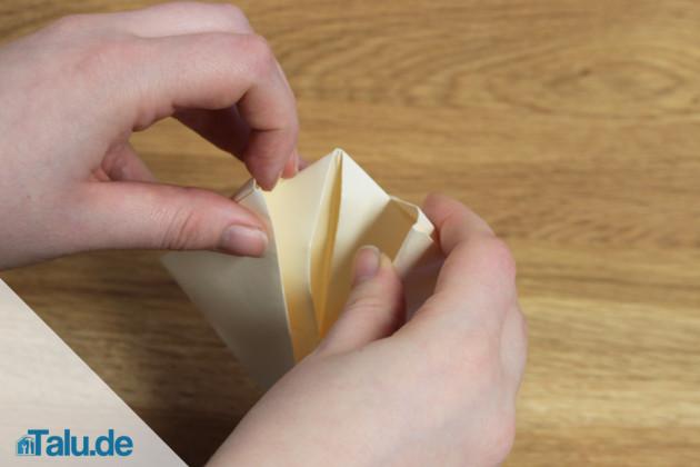 Origami Schiff falten