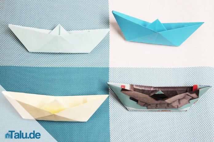 Papierboot falten
