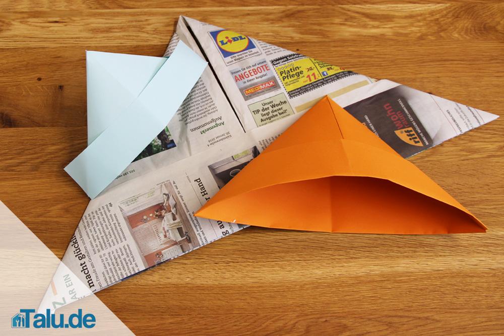 Papierhut Falten Zeitung