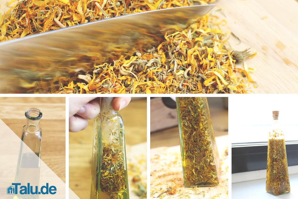 Ringelblumen-Öl selber machen