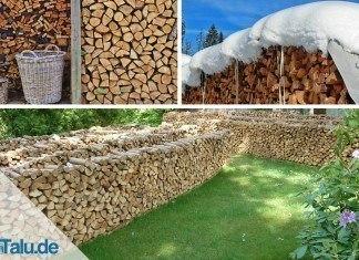 Holzunterstand bauen