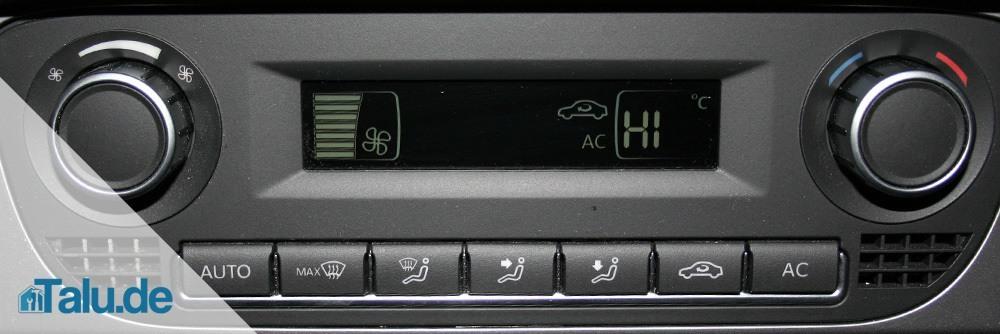 Umluft an und höchste Temperatur