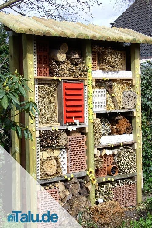 insektenhotel. Black Bedroom Furniture Sets. Home Design Ideas