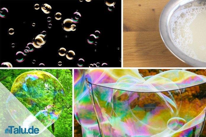 Seifenblasen Selber Machen Rezept Für Pustefix Talude