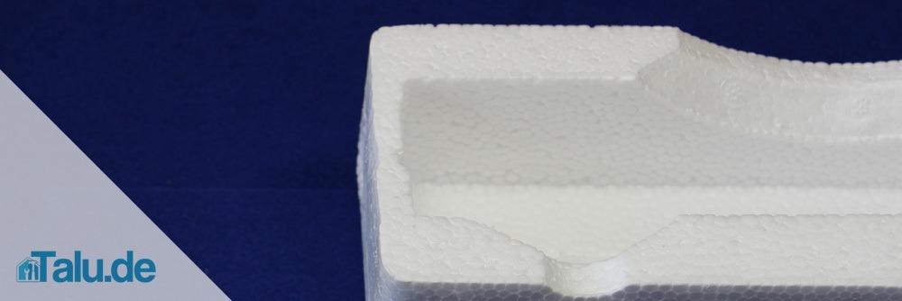 Gefrästes Styropor - häufiger Einsatz im Modellbau