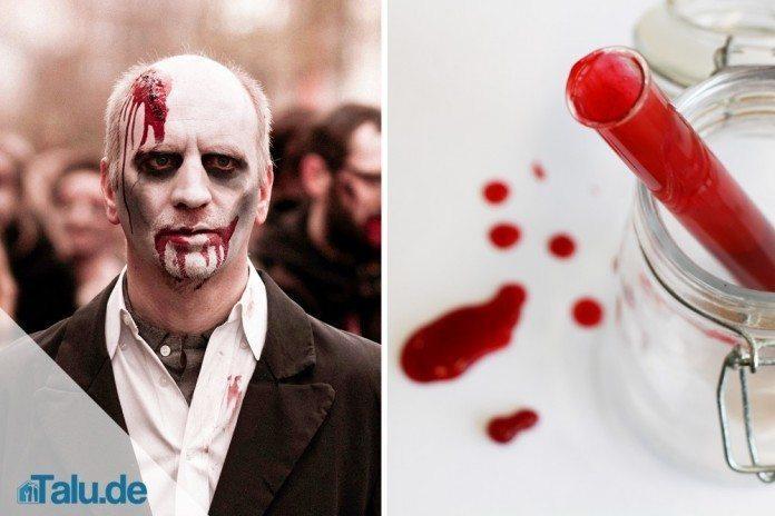 Halloween Schminke Zum Selber Machen.Diy Kunstblut Selber Machen In 10 Minuten Hergestellt Talu De