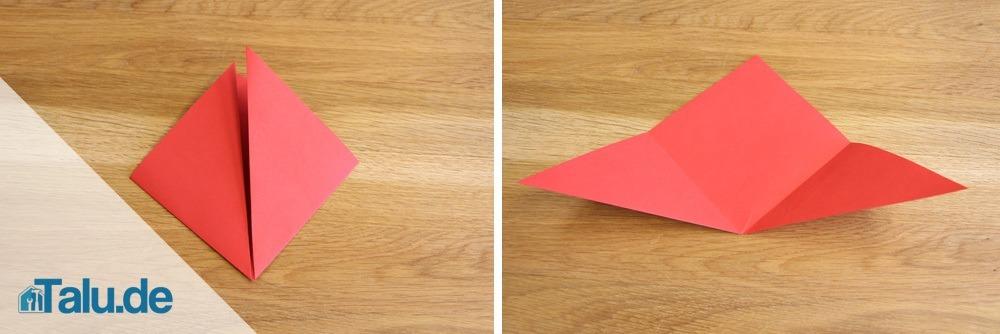 origami blume falten faltanleitung f r eine papierblume. Black Bedroom Furniture Sets. Home Design Ideas