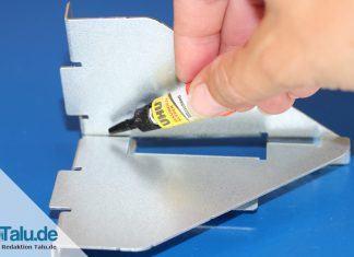 Weihnachtskarten basteln mit kindern diy tutorial - Klebereste fensterrahmen entfernen ...
