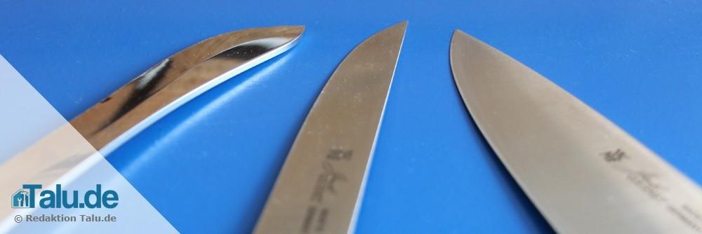 Hochwertigere Messer