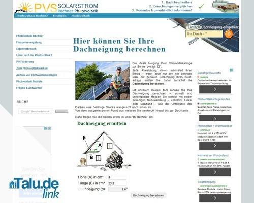 Photovoltaik-Link