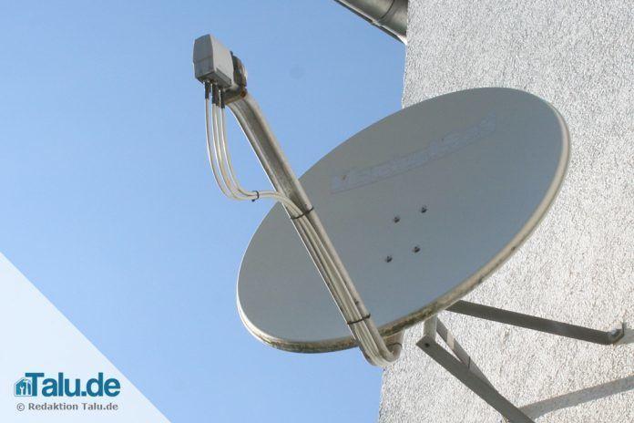 Satellitenschüssel installieren und einrichten - so geht\'s! - Talu.de
