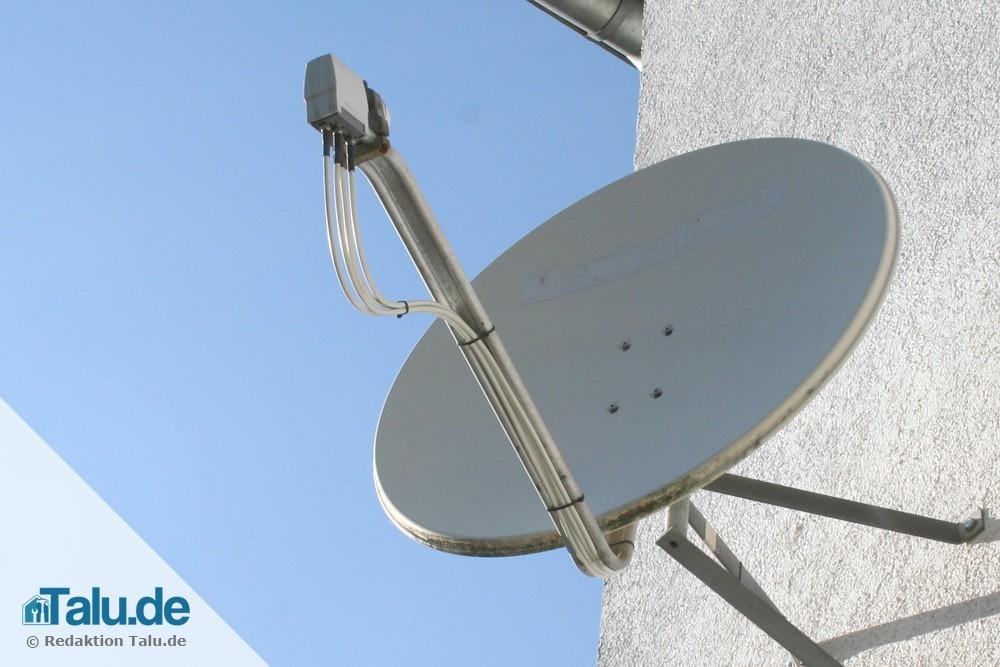 Satellitenschüssel Installieren Und Einrichten So Geht S Talu De