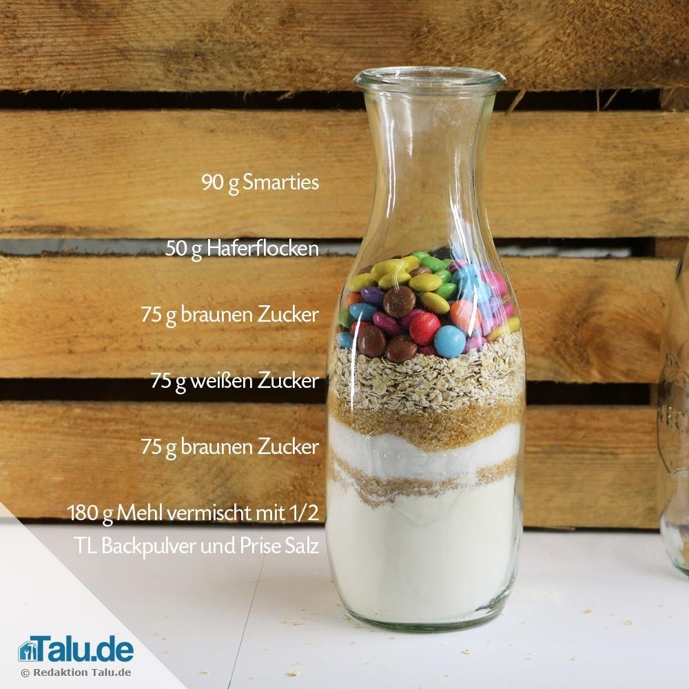 Backmischung Im Glas Verschenken 4 Leckere Rezepte Talu De