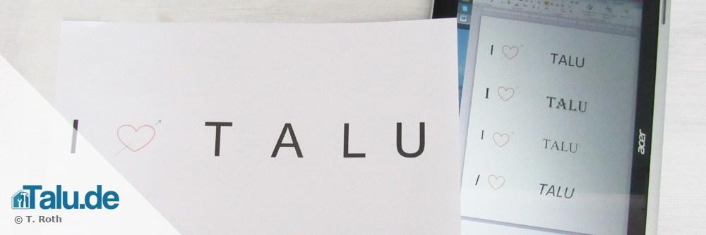 Gut gemocht Buchstaben sticken - so einfach geht´s! - Talu.de UY71
