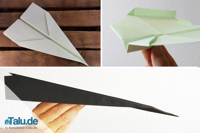 Bauanleitungen Für Papierflieger Zum Ausdrucken Talu De