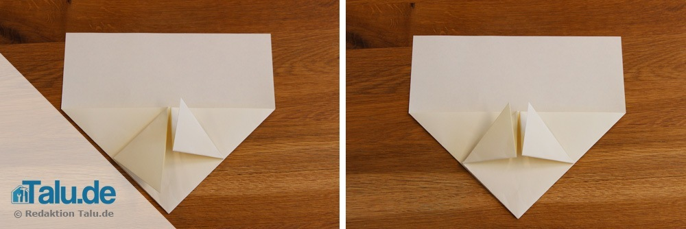schwalbe papierflieger selber basteln so geht 39 s. Black Bedroom Furniture Sets. Home Design Ideas