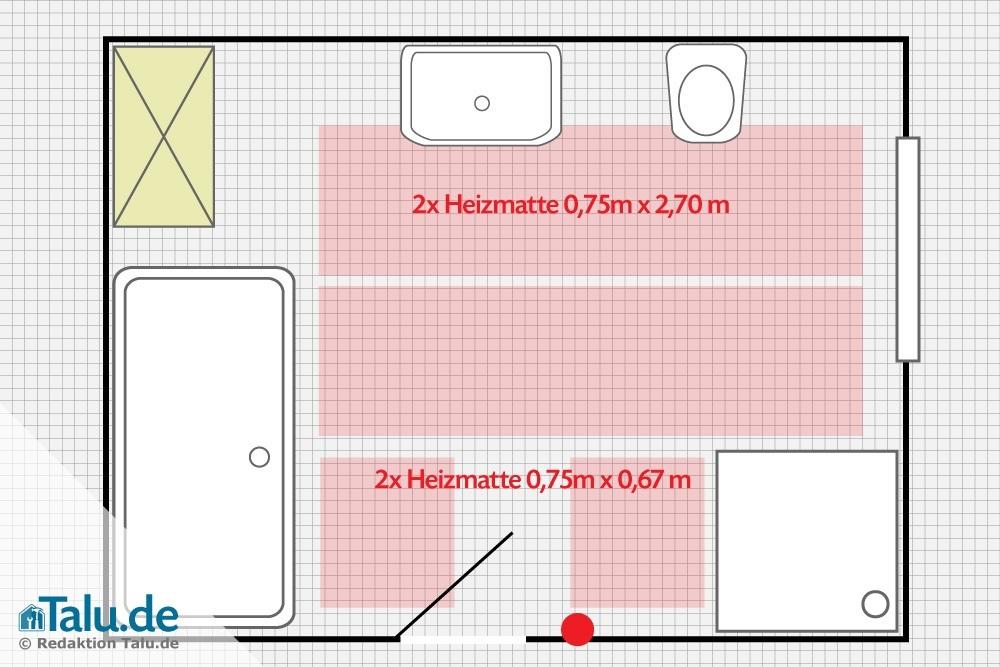 elektrische fu bodenheizung verlegen anleitung cm99 hitoiro. Black Bedroom Furniture Sets. Home Design Ideas