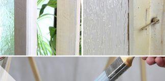 Holzfenster neu streichen