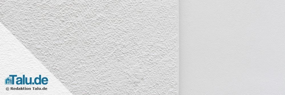 Erneuerte Fassadenfarbe