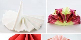 Servietten Falten Fächer servietten falten leicht gemacht talu de