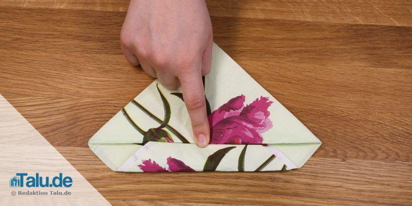 serviette falten lilie alles ber wohndesign und m belideen. Black Bedroom Furniture Sets. Home Design Ideas