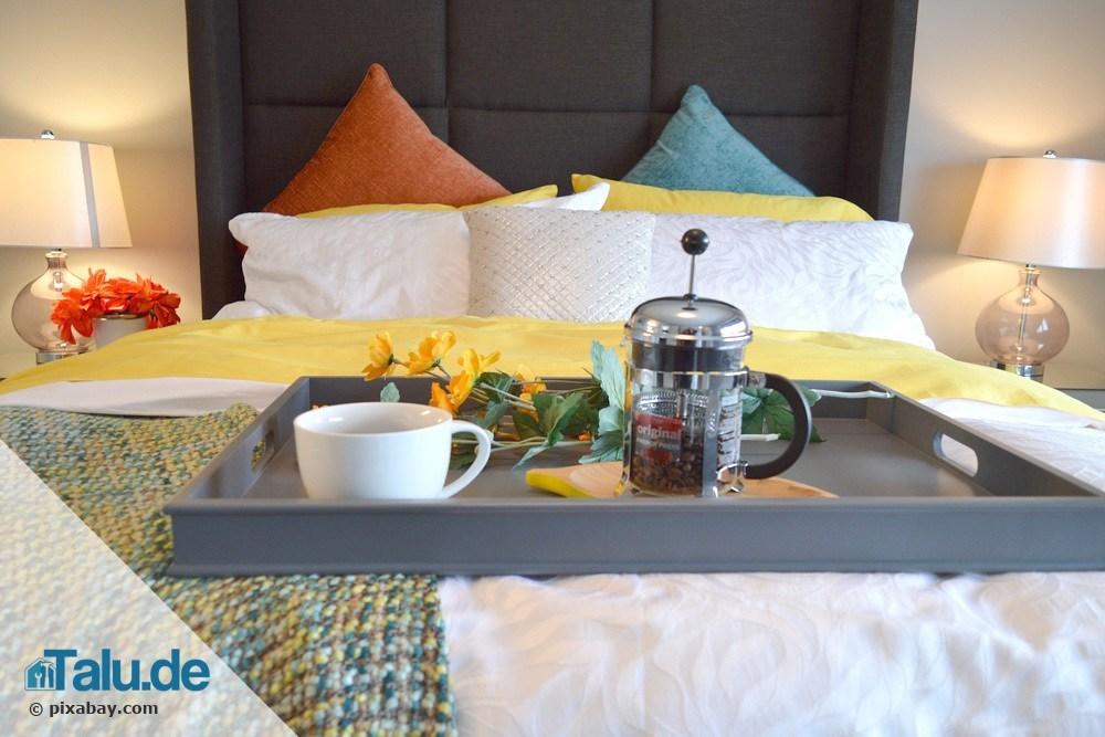 Bett und Lattenrost quietscht und knarrt - schnelle Abhilfe - Talu.de
