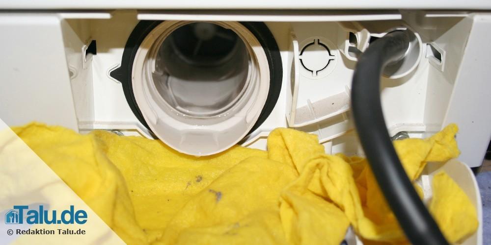 Bekannt Waschmaschine stinkt modrig und nach faulen Eiern - Talu.de DJ07