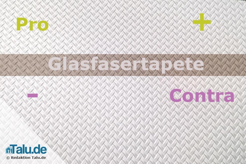 Beliebt Glasfasertapete - überwiegen Vorteile oder Nachteile? - Talu.de QP47