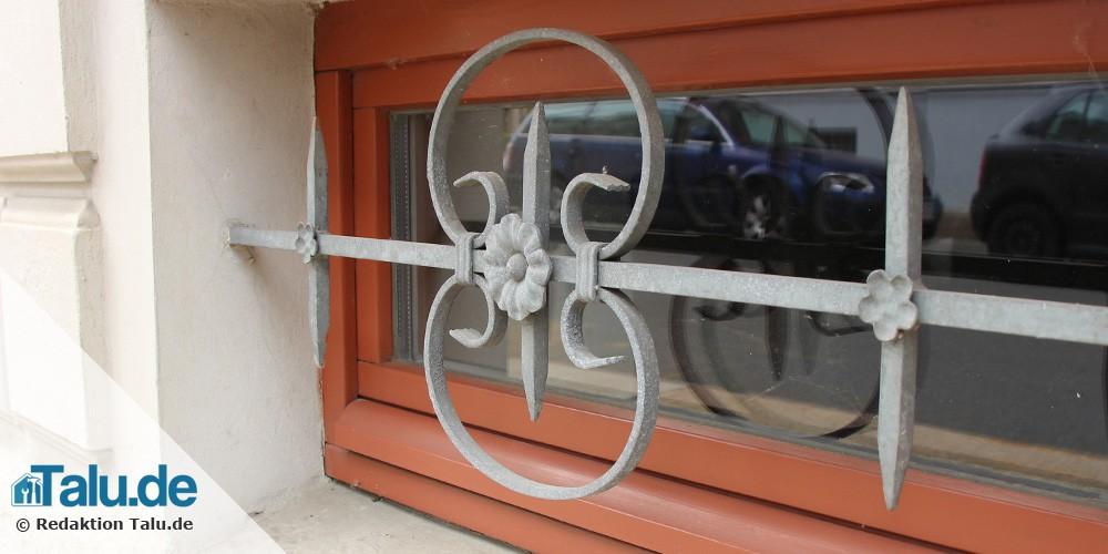 Schmuckgitter Kellerfenster