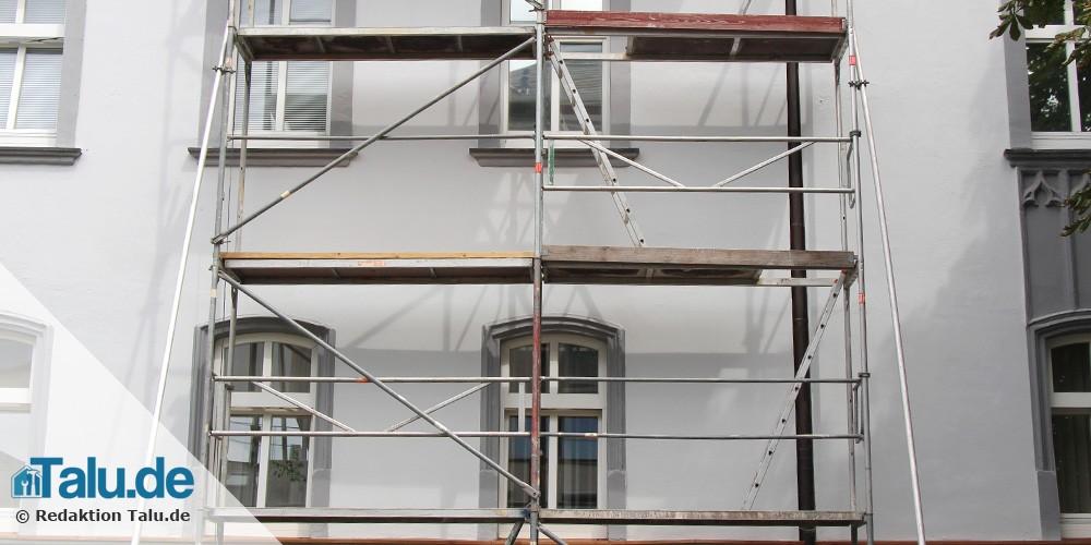 Gut bekannt Fassadendämmung - Kosten beim Neu/Altbau im Überblick - Talu.de YD71