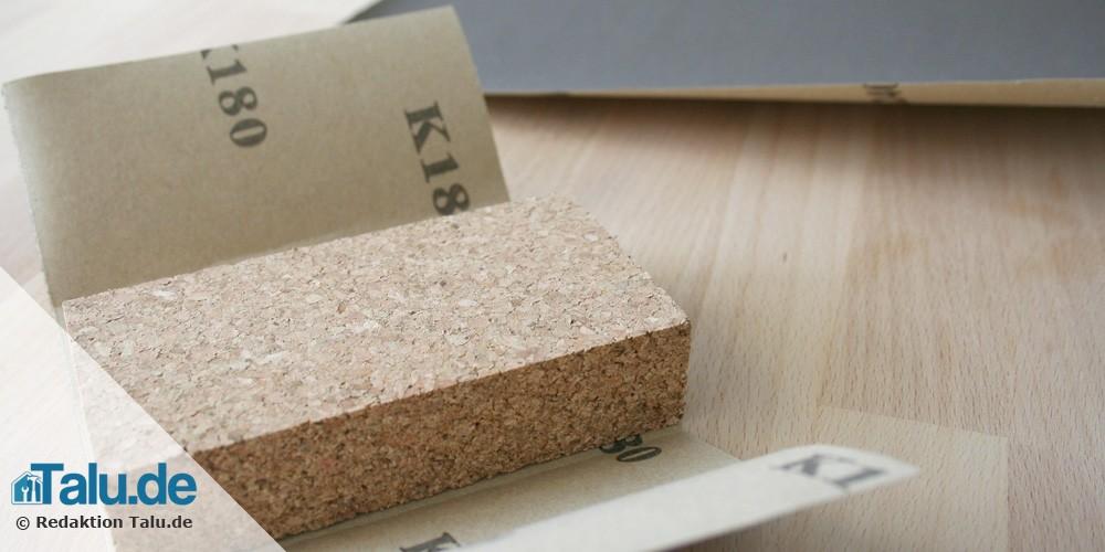 Schleifpapier-Härte