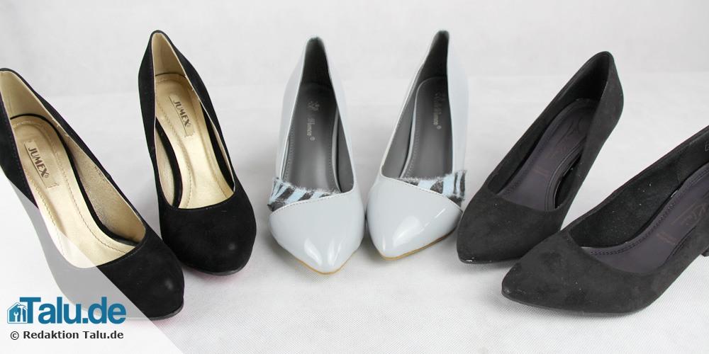 Schuhe wechseln
