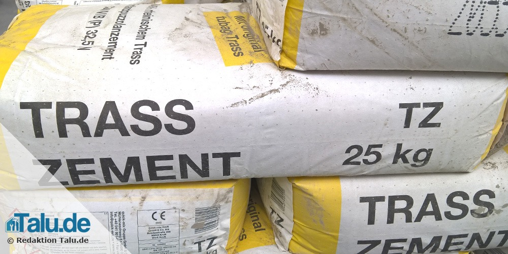 25 kg Sack Trasszement