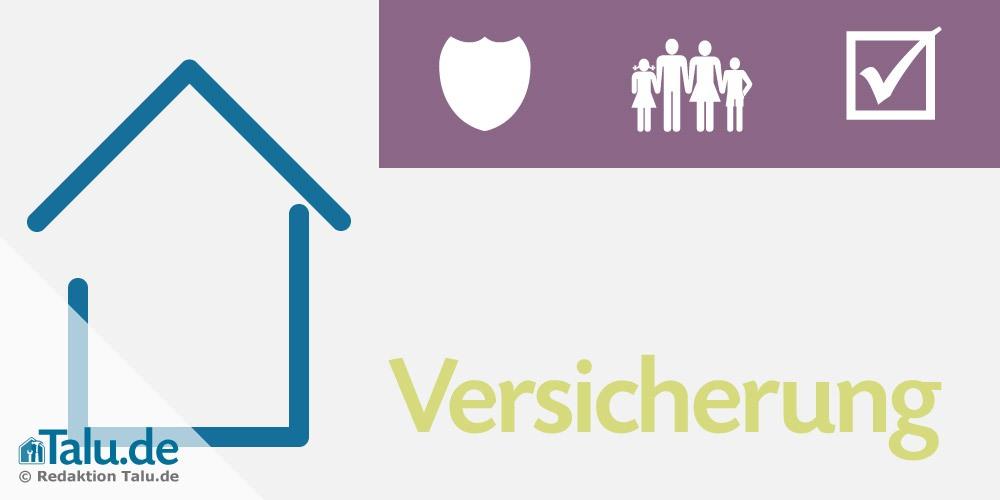 Versicherung Hausbau