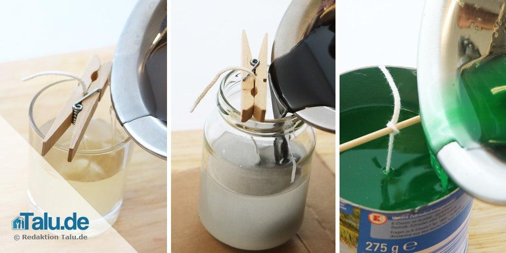 Fabulous DIY-Duftkerze - Anleitung: Duftkerzen selber machen - Talu.de PE94