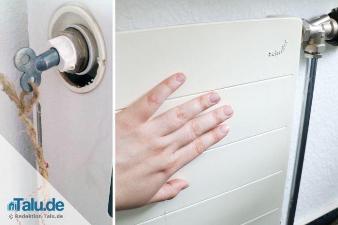 alte und neue heizk rper richtig entl ften diy anleitung. Black Bedroom Furniture Sets. Home Design Ideas