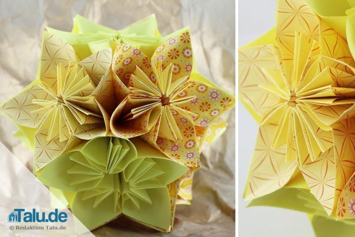 Kusudama Origami Dover Books on Papercraft and Origami: Amazon.de ... | 464x696